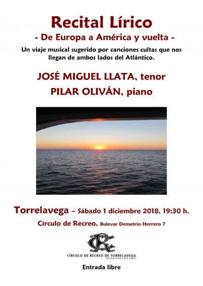 Cartel recital CR 1-12-18