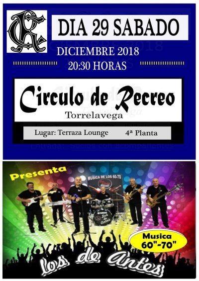 Concierto Los de antes 29-12-2018