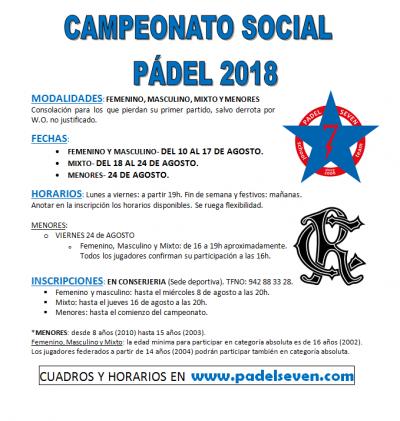 SOCIAL PADEL